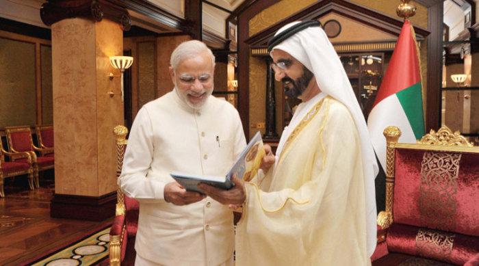 Prime Minister Modi in UAE
